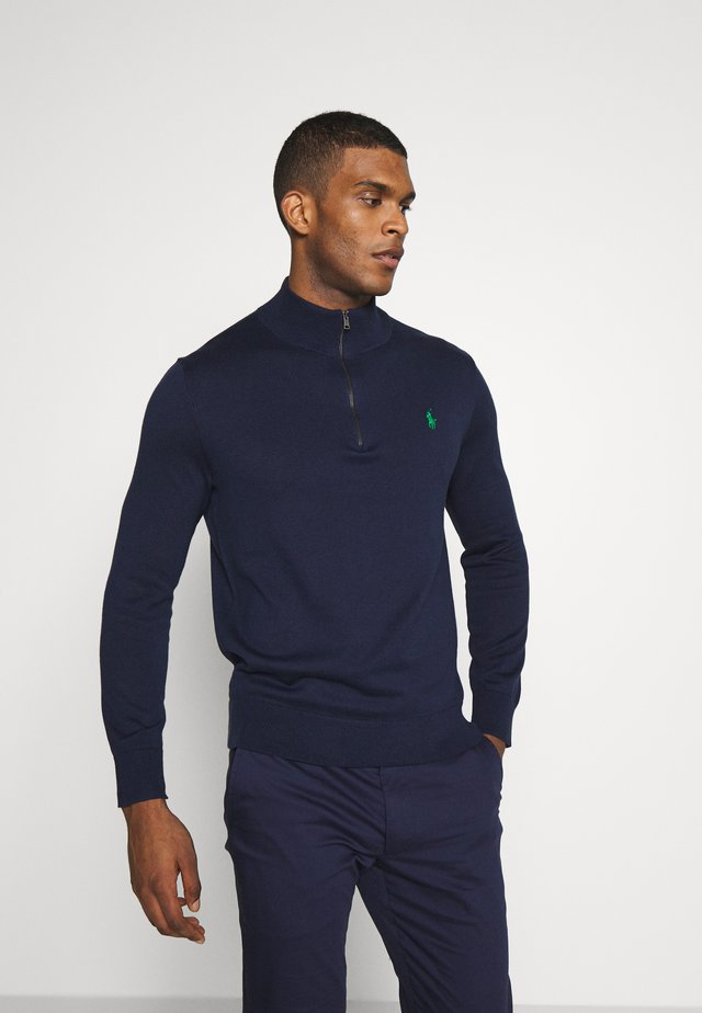LONG SLEEVE - Sweter - french navy