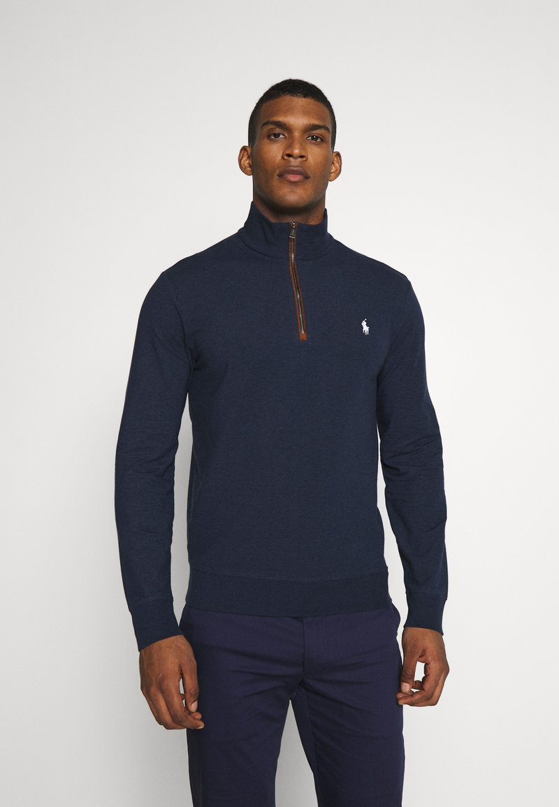 Polo Ralph Lauren Golf - LONG SLEEVE - Sweatshirt - medieval blue heather