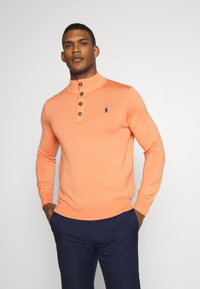 LONG SLEEVE - Sweter - true orange