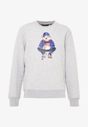BEAR LONG SLEEVE - Sweatshirt - grey heather