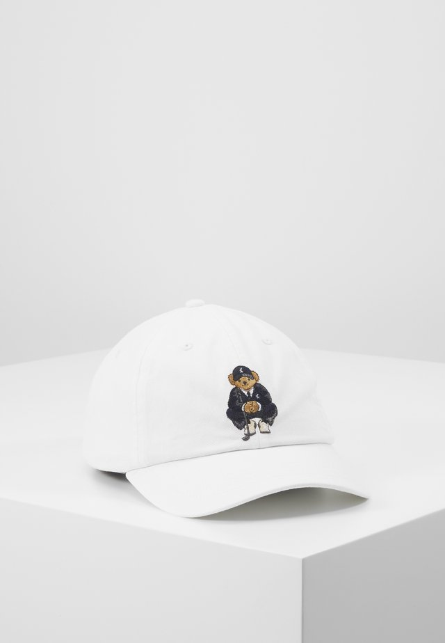 BEAR HAT - Cappellino - white