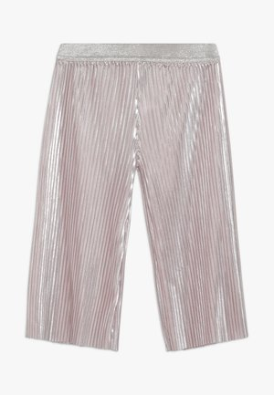 SHINY PLEATED TROUSERS - Kalhoty - pink pale