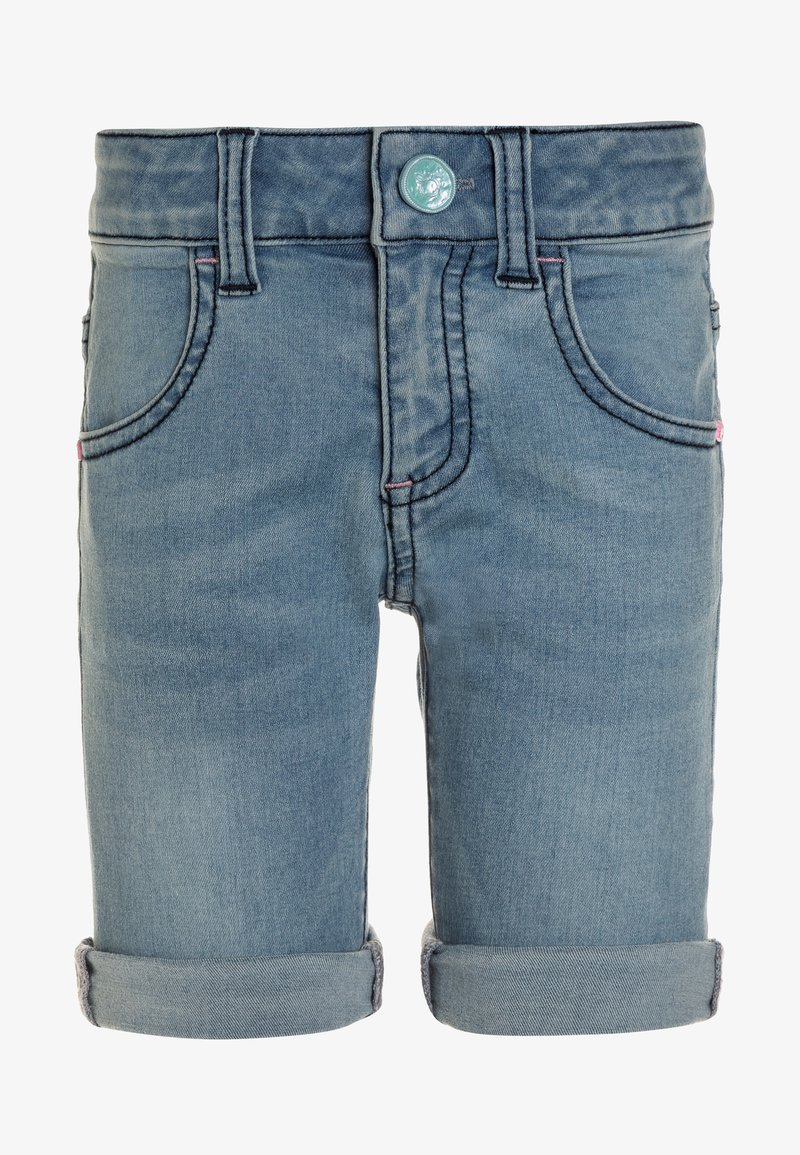 3 Pommes - BERMUDA - Jeans Shorts - ocean