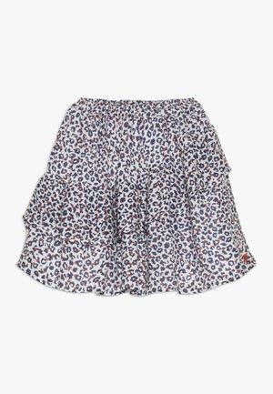 FLUIDSKIRT FLOUNCED PRINTED - A-line skirt - white