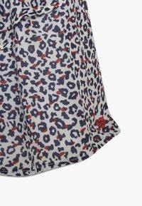 3 Pommes - FLUIDSKIRT FLOUNCED PRINTED - A-line skirt - white - 3