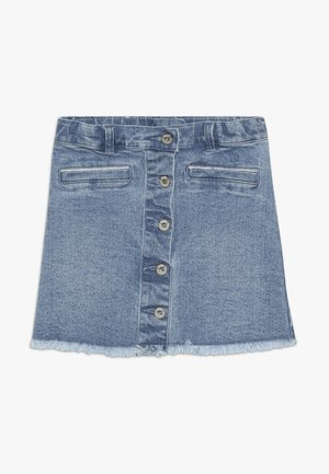 SKIRT - Denim skirt - indigo