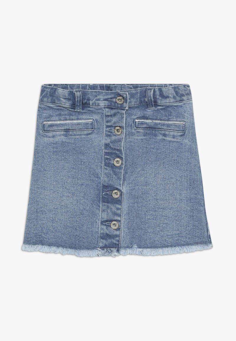 3 Pommes - SKIRT - Denimová sukně - indigo