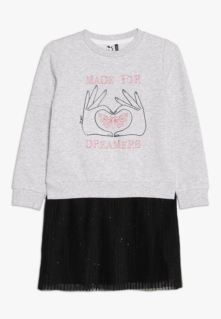 3 Pommes - DRESS - Freizeitkleid - mid china grey