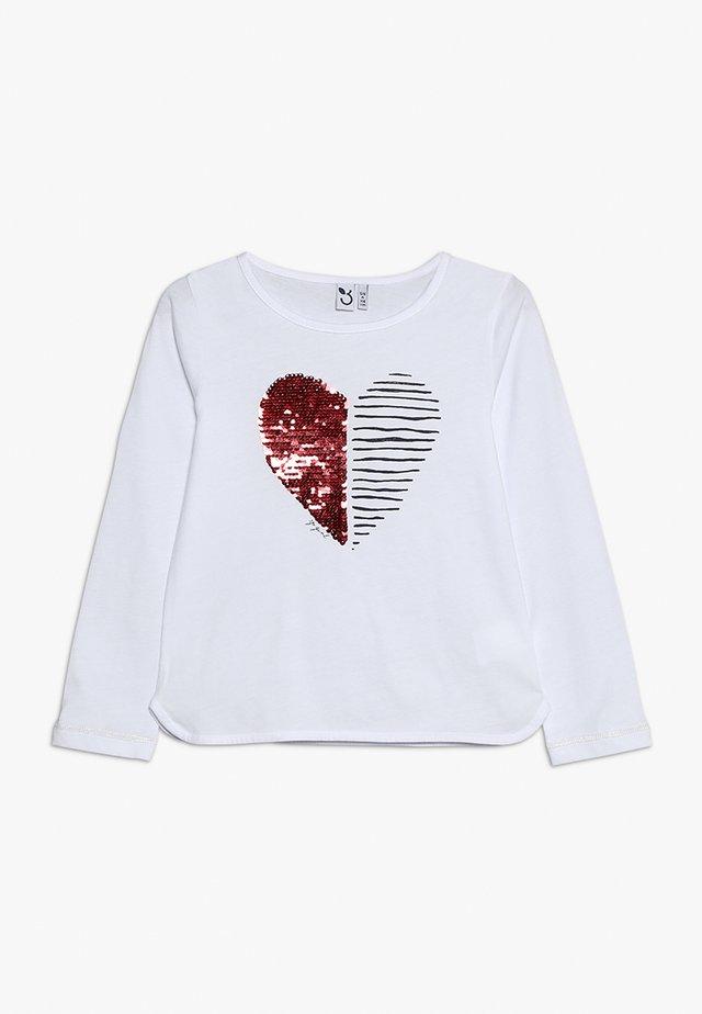 TEE - Langarmshirt - white