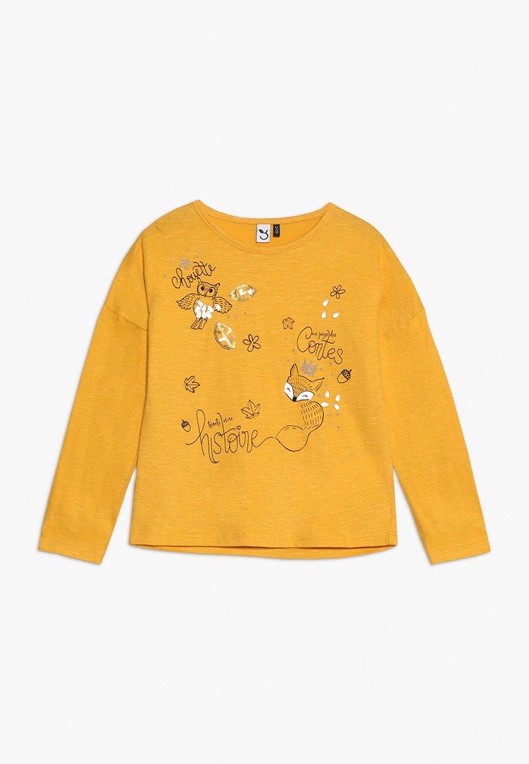 3 Pommes - Langærmede T-shirts - mustard