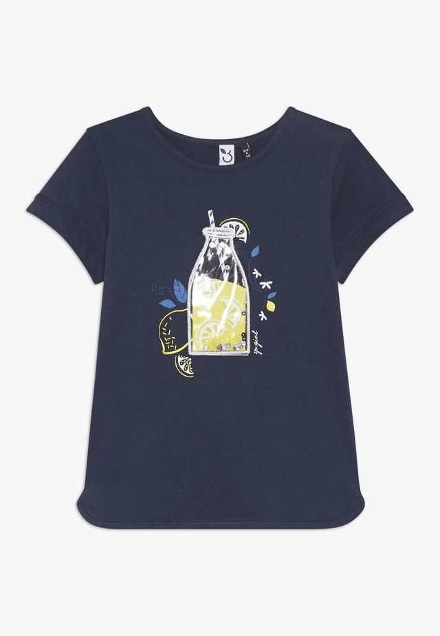 TEE SHORT SLEEVES - Print T-shirt - blue night