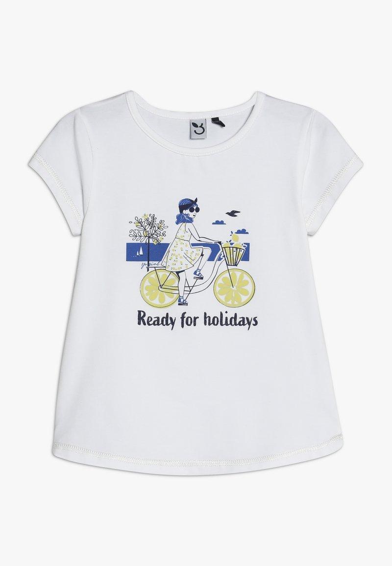 3 Pommes - TEE - T-shirts print - white