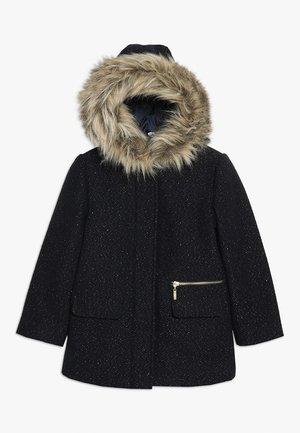 Winter coat - midnight blue