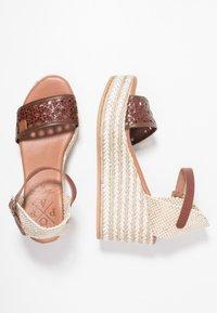 POPA - LIENA - Sandaletter - brown - 3