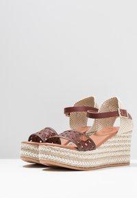 POPA - LIENA - Sandaletter - brown - 4