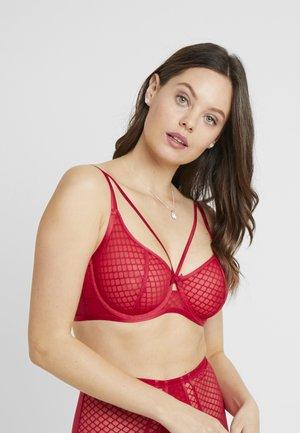ILLICIT UNDERWIRED BRA - Kaarituelliset rintaliivit - red