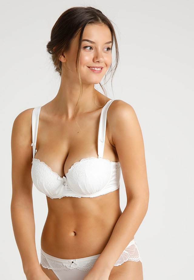 DEVOTION STRAPLESS BRA - Stropløse & variable BH'er - ivory