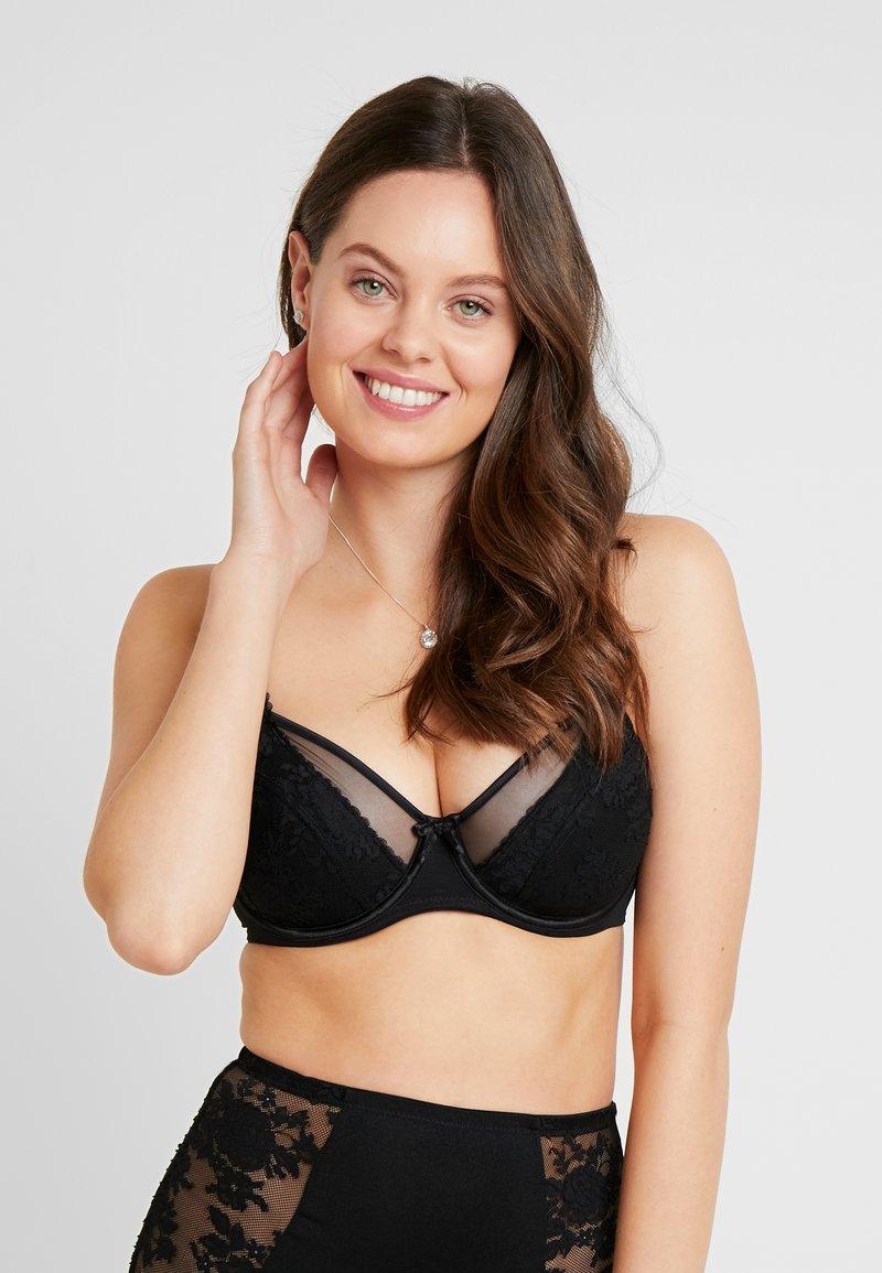 Pour Moi - MUSE UNDERWIRED BRA - Underwired bra - black