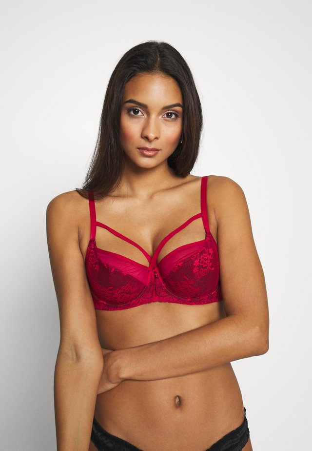 SENSATION UNDERWIRED BRA - Podprsenka s kosticemi - red