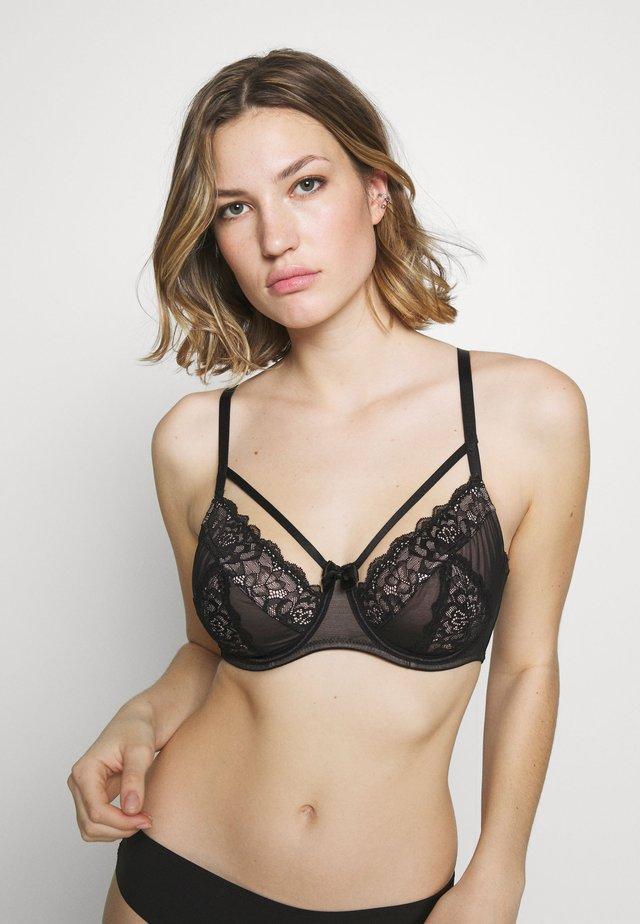 CONFESSION UNDERWIRED BRA - Underwired bra - black