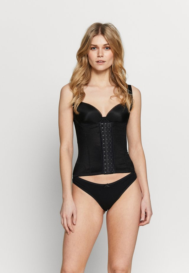 HOURGLASS FIRM CONTROL BACK SMOOTHING WAIST CINCHER - Korsetti - black