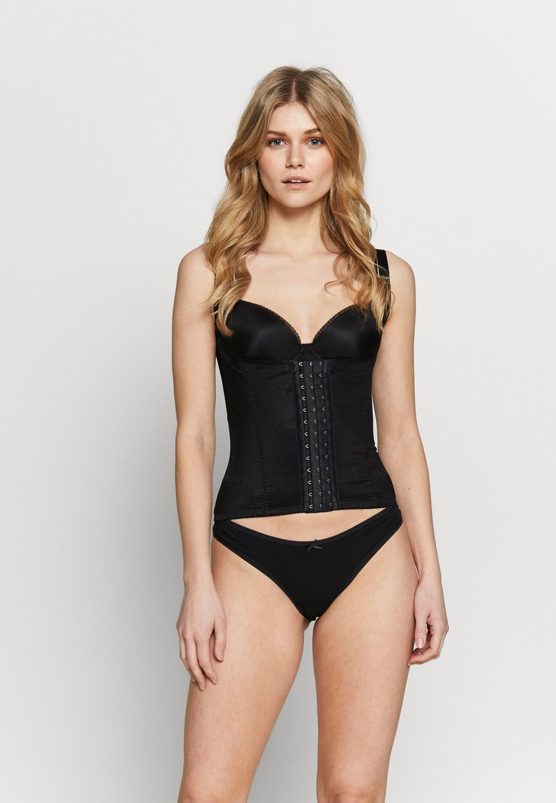 Pour Moi - HOURGLASS FIRM CONTROL BACK SMOOTHING WAIST CINCHER - Corset - black