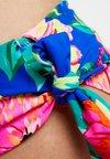 Pour Moi - HEATWAVE FOLD OVER TIE BRIEF - Bikini-Hose - blue