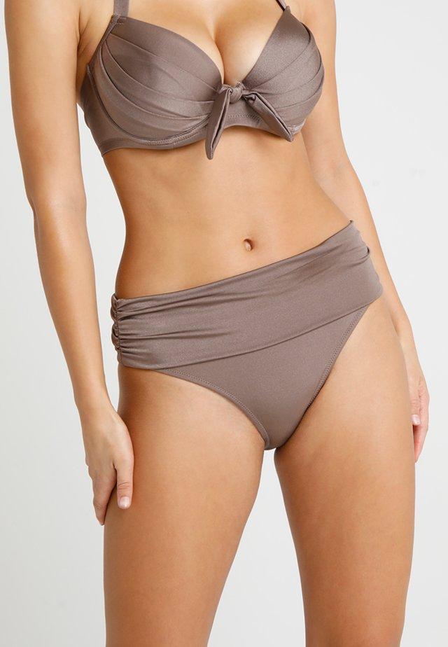AZURE FOLDOVER RUCHED BRIEF - Bikini pezzo sotto - stardust