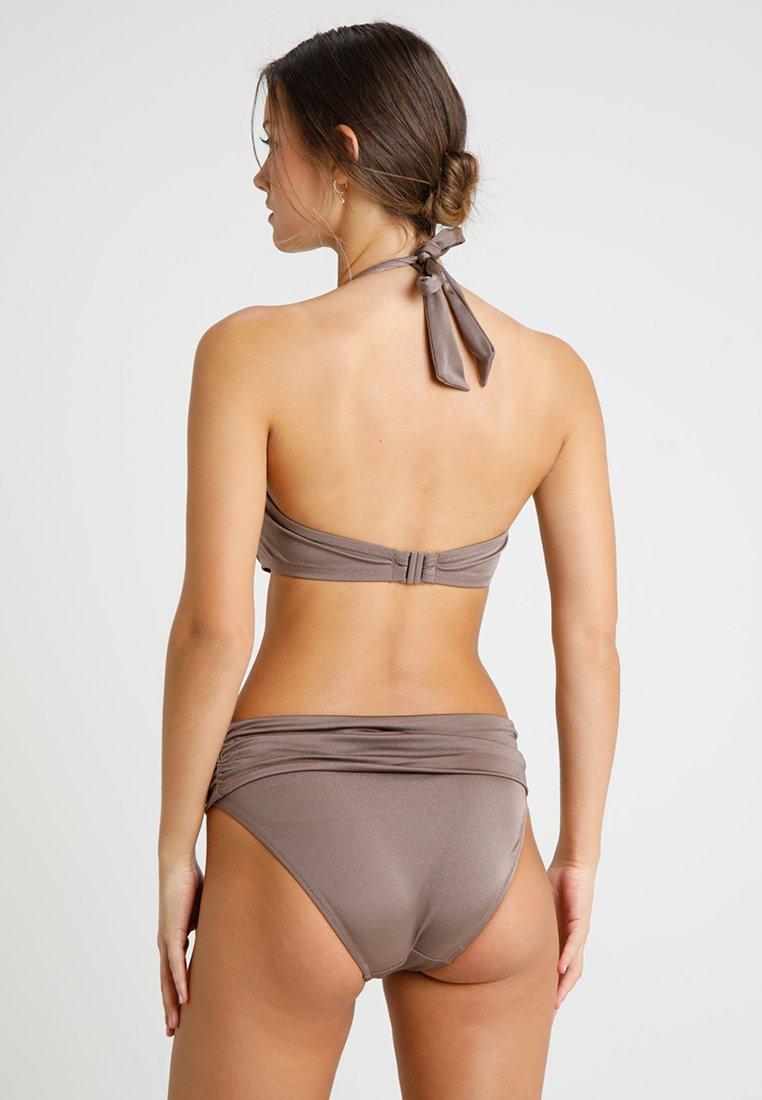 Pour Moi AZURE FOLDOVER RUCHED BRIEF - Bikiniunderdel - stardust