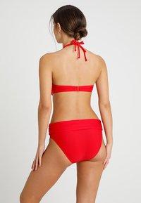 Pour Moi - BALI FOLDOVER BRIEF - Bikinibroekje - red - 2