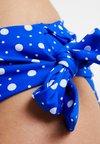 Pour Moi - MINI MAXI FOLDOVER BRIEF - Spodní díl bikin - blue