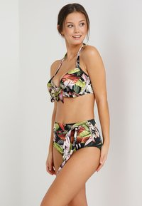 Pour Moi - ORCHID LUXE HALTER LIGHTLY PADDED UNDERWIRED - Bikinitop - multi - 1