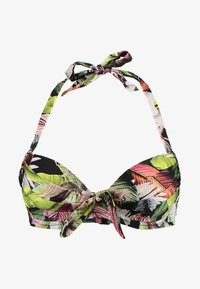 Pour Moi - ORCHID LUXE HALTER LIGHTLY PADDED UNDERWIRED - Bikinitop - multi - 4