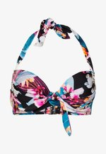 ORCHID LUXE HALTER LIGHTLY PADDED UNDERWIRED - Bikini top - pink