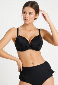 Pour Moi - SPLASH PADDED UNDERWIRED - Bikinitopp - black - 1