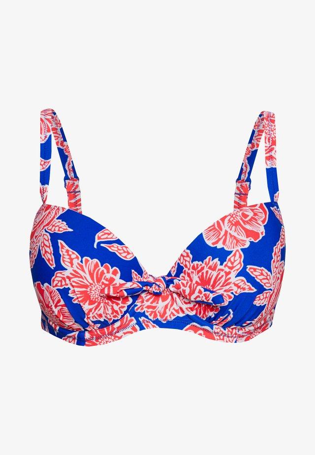 HEATWAVE PADDED UNDERWIRED - Góra od bikini - blue
