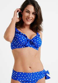 Pour Moi - MINI MAXI UNDERWIRED - Top de bikini - blue - 0