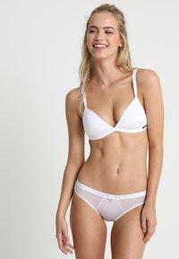 Pour Moi - VIVA LUXE BRIEF - Slip - white - 1