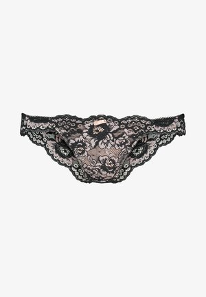OPULENCE BRAZILIAN BRIEF - Briefs - black/pink
