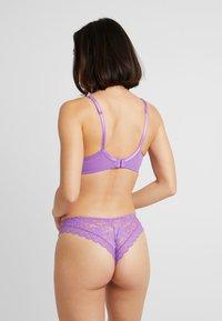 Pour Moi - REBEL BRAZILIAN BRIEF - Slip - purple - 2