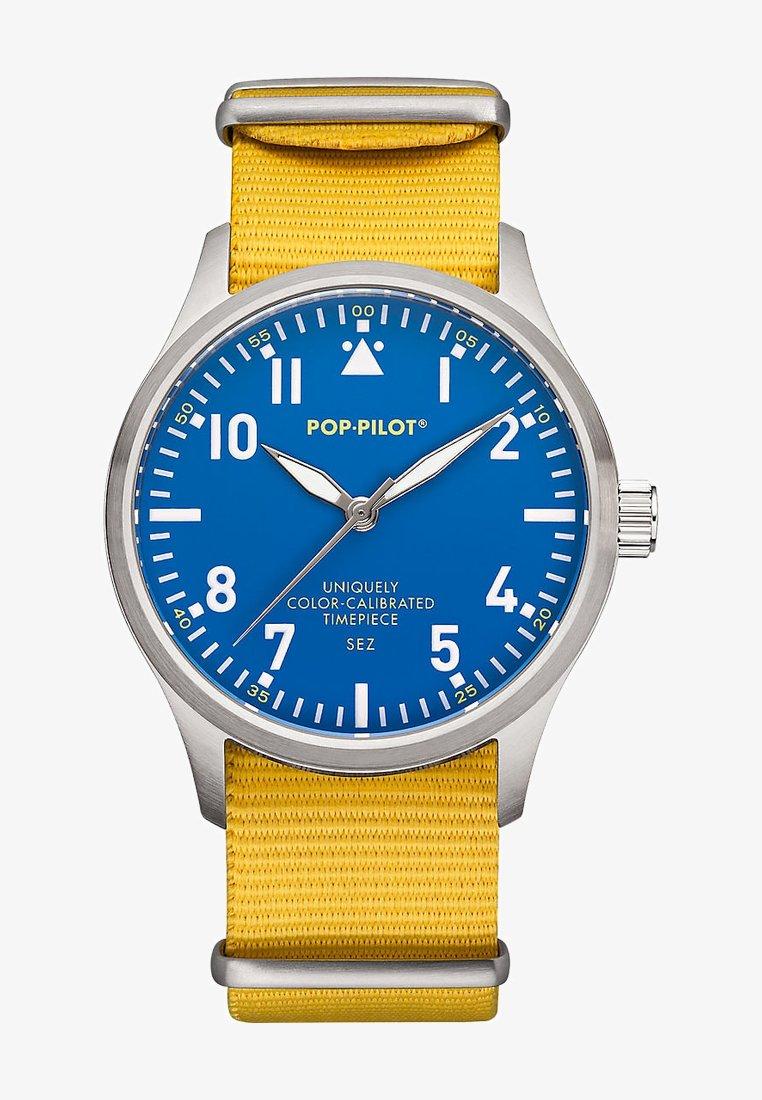 POP-PILOT - SEZ - Watch - yellow/blue