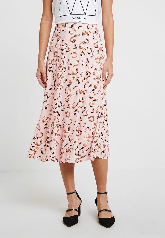 SKIRT - Maxi skirt - peachskin