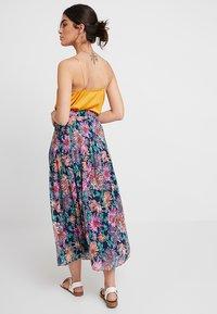 POSTYR - POSANA LONG SKIRT - Veckad kjol - patriot blue - 2