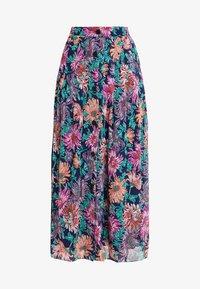 POSTYR - POSANA LONG SKIRT - Veckad kjol - patriot blue - 3