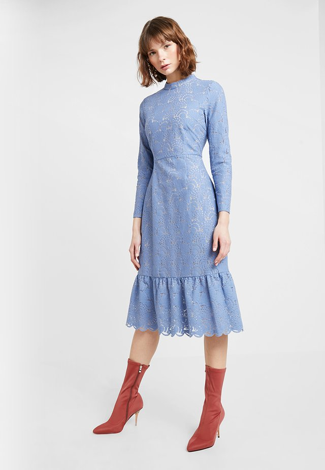 POSAUBREY DRESS - Sukienka koktajlowa - blue