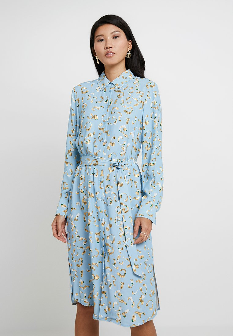 POSTYR - POSLAURETTE DRESS - Day dress - placid blue