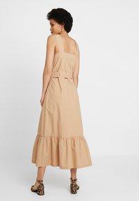 POSTYR - ZARIA DRESS - Maxi dress - tannin - 3