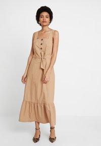 POSTYR - ZARIA DRESS - Maxi dress - tannin - 0