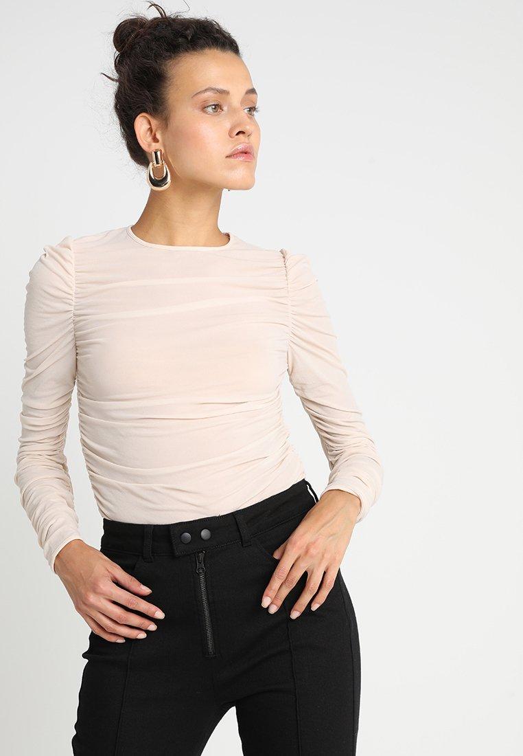 POSTYR - POSKRUSEMYNTE - Long sleeved top - crystal grey