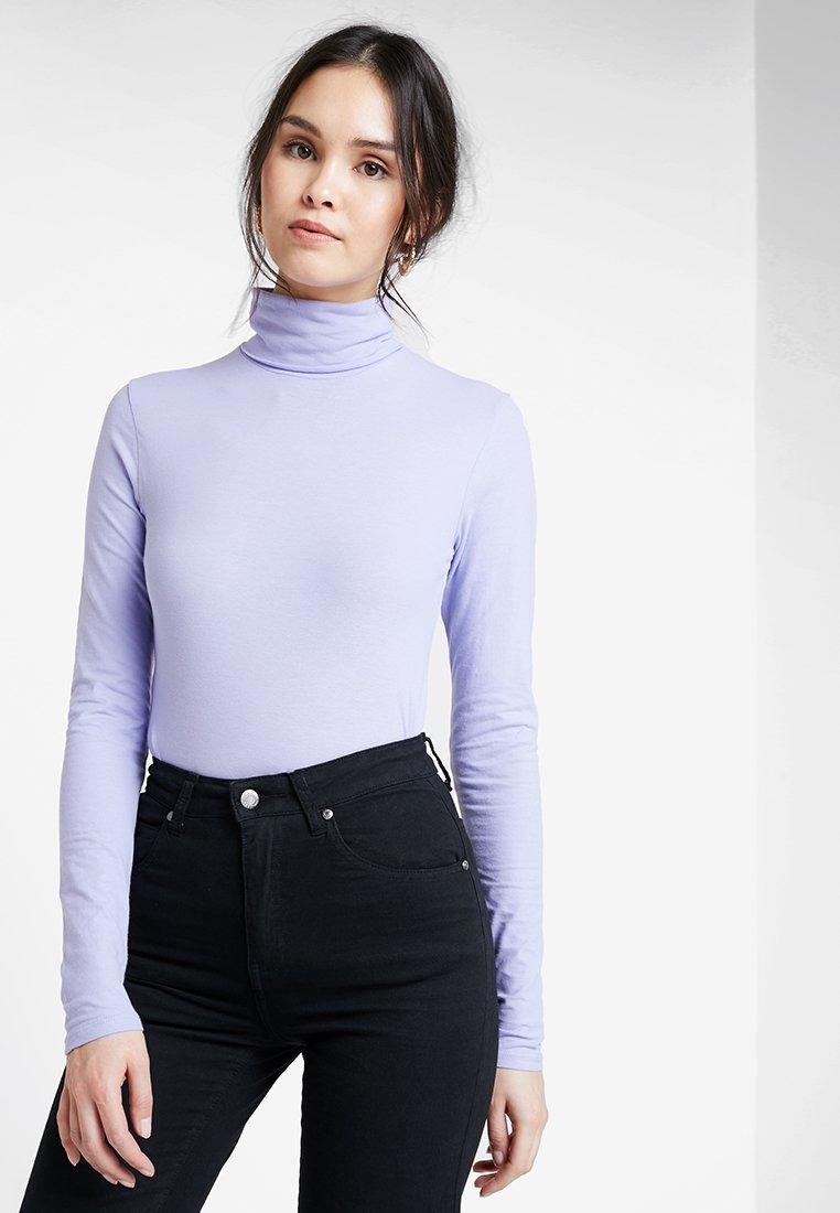 POSTYR - POSKUNIGUNDE ROLL NECK - Long sleeved top - lilac
